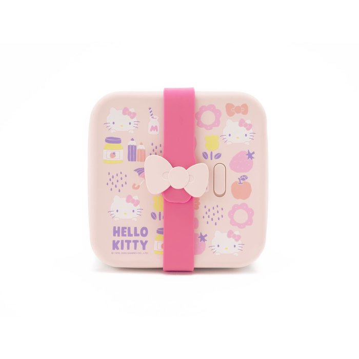 台灣 VIIDA x Hello Kitty 夢幻日常方形便當組/316不鏽鋼便當盒/午餐盒/餐盒/保鮮盒 2020聯名