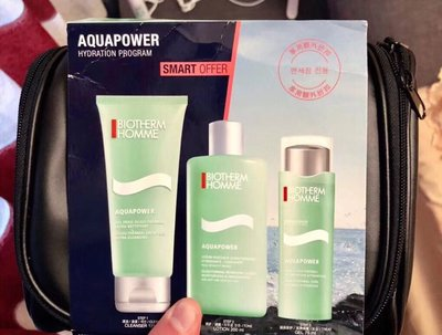 🇫🇷Biotherm Homme AquaPower男士保濕3件套裝