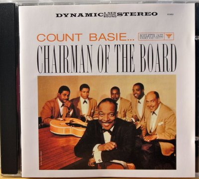 Count Basie - Chairman Of The Board 二手荷版