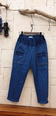 蘋果樹 韓國服飾~guru:rim八分彈性牛仔褲