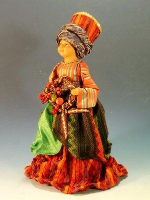 非洲風格聖誕節仕女塑像擺飾:非洲 風格 聖誕節 仕女 塑像 擺飾 收藏 設計 居家 家飾 禮品 雜貨
