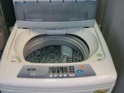聲寶10KG全自動洗衣機 3800 含運 保固 7成新 破盤價