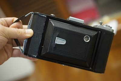 漂亮德國蔡司 Zeiss Ikon VEB蛇腹摺疊相機超大光圈Novar Anastigmat V 110mm F4.5