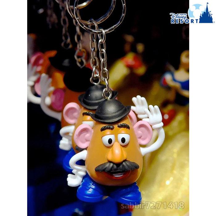 JP購✿樂園限定經典鎖圈 蛋頭先生 玩具總動員 日本東京迪士尼樂園 吊飾 掛飾 鑰匙圈 401350096307