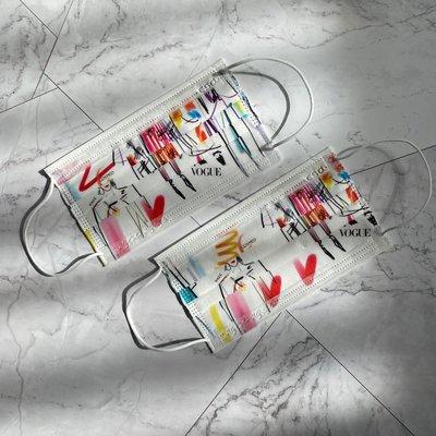 中衛 CSD x VOGUE  聯名款  康是美 口罩 2片裝