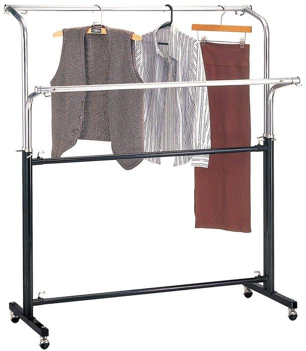 *SA364-5*6尺雙管衣架/大台北地區/系統家具/沙發/床墊/茶几/高低櫃/1元起