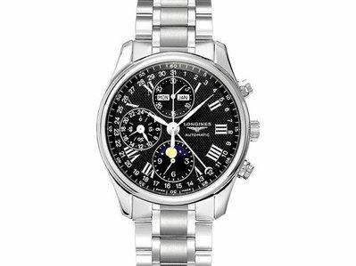 【JDPS 久大御典品 / 名錶專賣】LONGINES(浪琴)錶 巨擘系列 多功能自動錶 附盒證 編號S4302