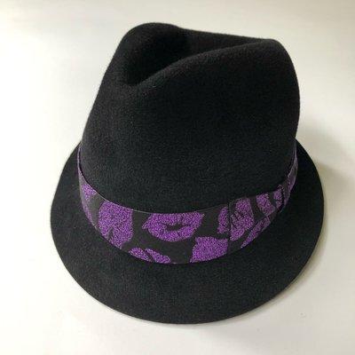 日本製真品 Wacko Maria 紫kiss hats 兔毛紳士帽 木村Hi-end 東京HAT ROCKERS 降價