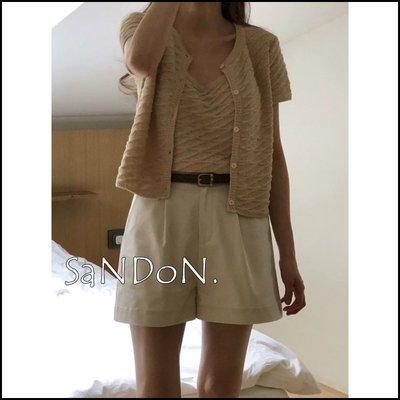 【2021山東六月號】韓國夏裝來了!PLAT BASE 復古摺邊設計短褲 UNGRID GUAPA 210604