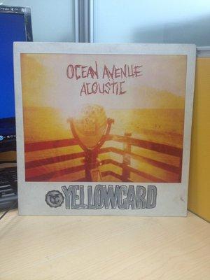 (標即結)(LP/黑膠唱片)Yellowcard黃色卡片-Ocean Avenue Acoustic海洋大道