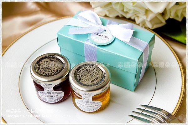 Double Love Tiffany盒英國進口Tiptree二入小果醬禮盒-二次進場.佈置.結婚婚禮小物.贈品.來店禮