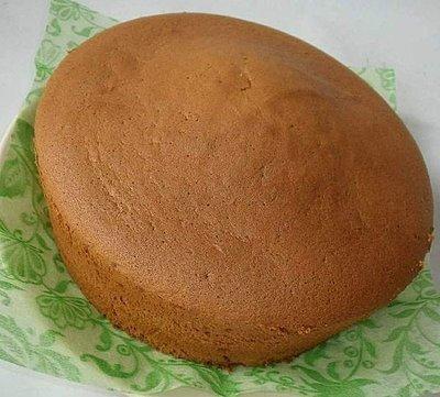 香橙戚風蛋糕(8吋)~低糖低脂!! 使用新鮮香吉士╭ 蓁橙烘焙 ╮