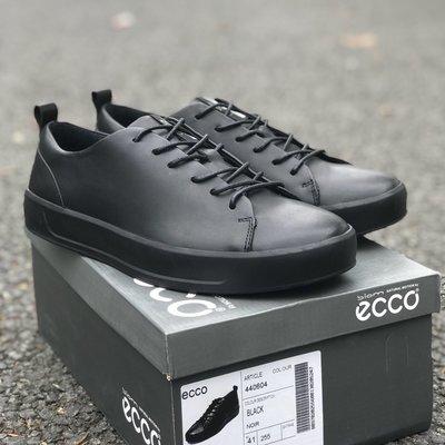 ECCO愛步時尚運動戶外男鞋 輕盈舒適透氣系帶鞋 柔酷8號