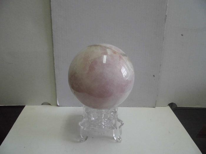 122mm天然粉晶球