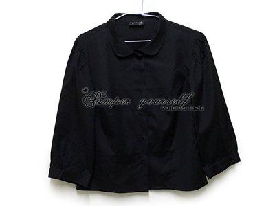 全新 專櫃真品 已剪材質標 agnes b. 七分袖 九分袖 襯衫 法國製造