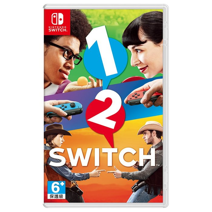 【墨坊資訊-台南市】任天堂 Nintendo Switch 【1-2-Switch】