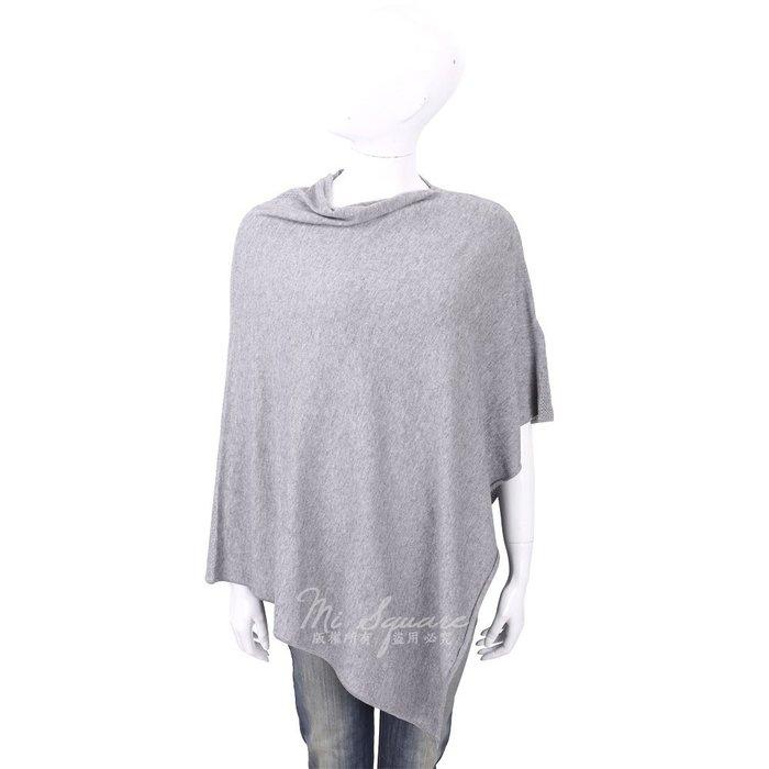 米蘭廣場 ALLUDE 喀什米爾灰色羊毛罩衫 1740234-06