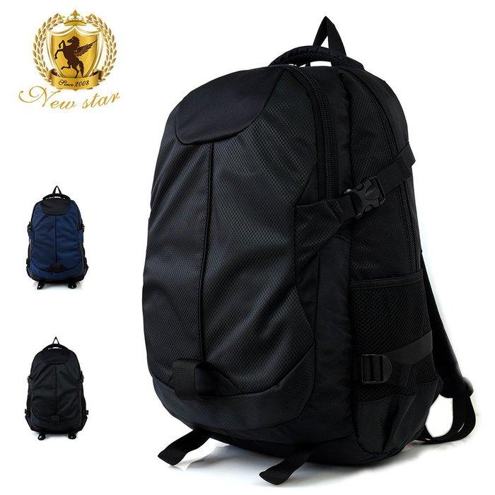 現貨免運!運動輕時尚防水雙層大容量後背包包 電腦包 NEW STAR BK231