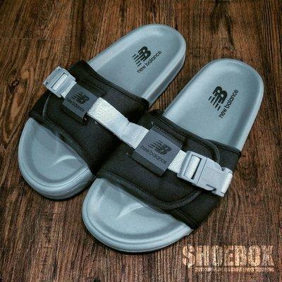 SHOEBOX《保證正品》New Balance Sandals 韓國製 鐵灰 SD2152DG