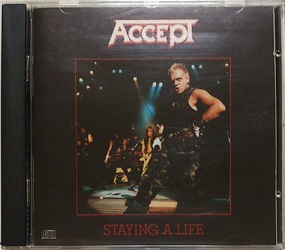 Accept - Staying A Life 無IFPI 二手美版
