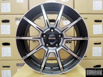 全新 正 義大利 MOMO CORSE RS10 (RS-10) 鋁圈 15吋 4孔100 消光黑車面 歡迎來電詢問~