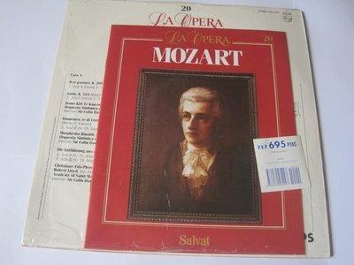 LA OPERA/ MOZART/ WOLFGANG AMADEUS MOZART 莫札特/莫札特歌劇選粹 大師LP黑膠唱片