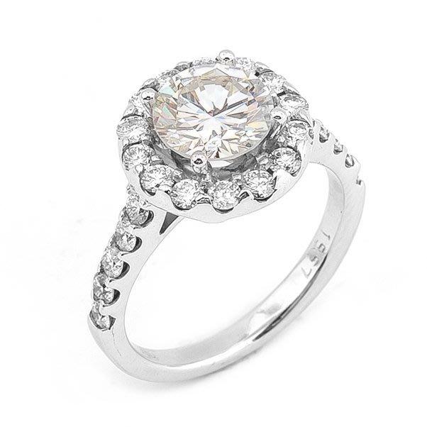 【JHT 金宏總珠寶/GIA鑽石專賣】1.01ct天然鑽石戒指/材質:18K(D000053)