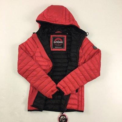 5164 I2 極度乾燥 連帽 羽絨 防風 保暖 長袖外套 女版 單拉鍊 Superdry 外套