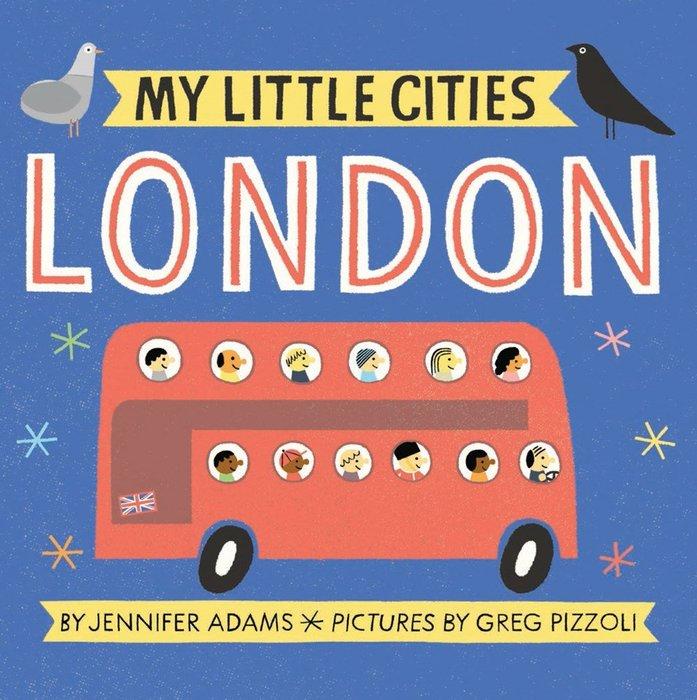 *小貝比的家*MY LITTLE CITIES LONDON/硬頁/3~6歲/世界文化