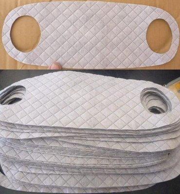 兒童雙耳洞雙層口罩/小朋友防塵口罩/高科技纖維不織布口罩~透氣/抗菌/防臭~最低1元起