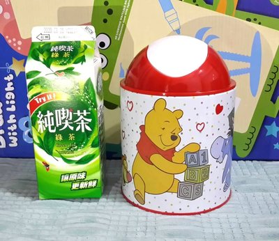 Winnie the Pooh Trash can Pen holder Storage bucket kid gift