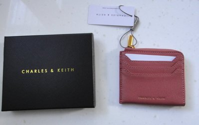 CHARLES & KEITH 小CK 專櫃正品 皮夾 卡夾 零錢包 證件夾 台北市