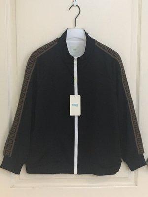 全新 Fendi 新款 TEEN FF trim bomber jacket  14Y  現貨一件