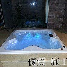 優質精品衛浴 (固定式浴缸特殊乾式工法,施打防霉膠) RF-450 按摩浴缸白色拆安裝施工圖1份