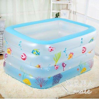 加厚嬰兒充氣保溫遊泳池xx3484