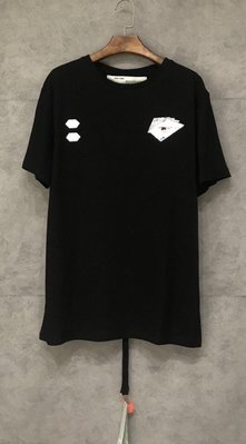 OFF WHITE HAND CARD S/S OVER T-SHIRT