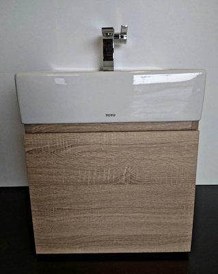 【台灣製造】TOTO浴櫃 L710CGUR 方盆 專用浴櫃 (左開門/右開門/無把手/台製/北美原橡木色/貼皮/710)