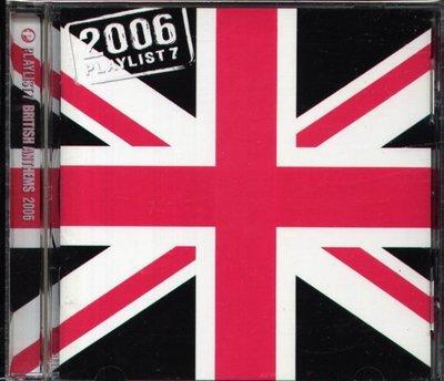 八八 - Playlist 7 British Anthems 2006 - 日版