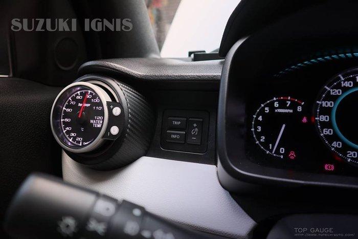 【精宇科技】SUZUKI IGNIS 冷氣出風口水溫錶 OBD2 OBDII 52MM 60MM
