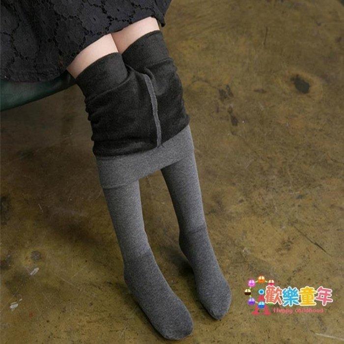 兒童連褲襪秋冬款刷毛女童打底褲加厚棉質寶寶連體襪中大童長筒襪