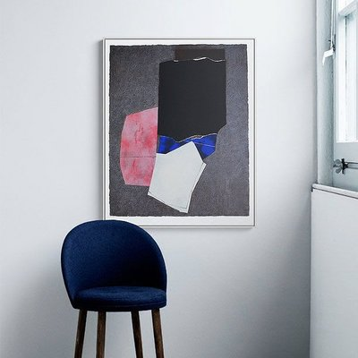 C - R - A - Z - Y - T - O - W - N 現代藝術抽象掛畫 文創藝術設計空間掛畫 工業風裝飾畫