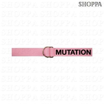 【SHOPPA】Perks and Mini  Perspective Mutation  尼龍 腰帶 粉色 18春夏