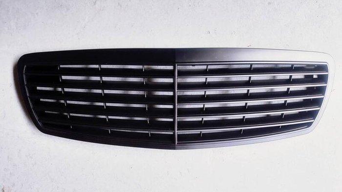 賓士 E-class W211 2002~2006 水箱罩 水箱罩總成 水柵 中網 改裝 消光黑 平光黑