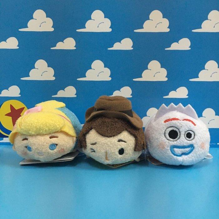 迪士尼 玩具總動員4 胡迪 牧羊女 叉奇 tsumtsum 玩偶/娃娃/布偶