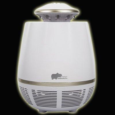 5Cgo【智能】創意日式家用物理滅蚊燈KABAMURA室內插電靜音滅蚊器吸蚊燈蚊蟲驅蚊器節能環保一鍵開關可卸式設計 含稅
