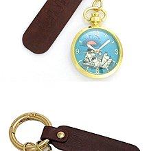 日本正版 Fieldwork 慕敏 嚕嚕米 MOM-05-1 懷錶 掛錶 鑰匙圈 日本代購