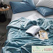 毛毯 毛毯珊瑚絨午睡毯子加厚保暖雙人學生宿舍單人冬季單件床單法蘭絨【日美購物】