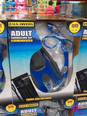 Us Divers成人浮潛組s-m