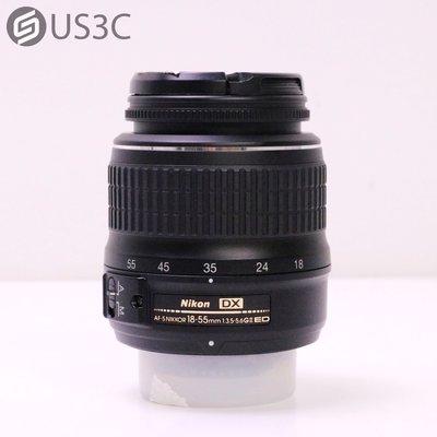 【US3C-台中店】Nikon AF-S DX NIKKOR 18-55mm F3.5-5.6G ED II 附保護鏡 二手鏡頭