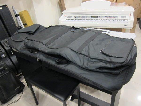 【名人樂器】全新台灣製造 61鍵 高級電子琴袋 106公分加大型 電子琴袋 另有標準型100公分、88鍵電子琴袋